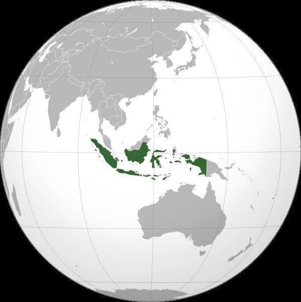 dov'è l'indonesia