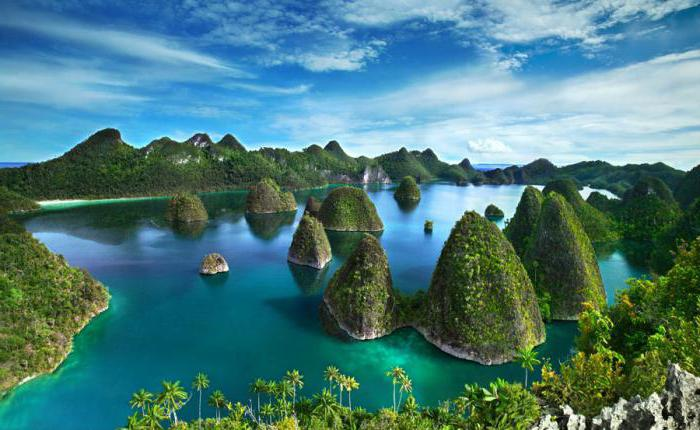 dov'è l'Indonesia con le isole