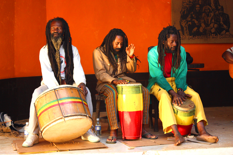 glazbenici u Montego Bayu