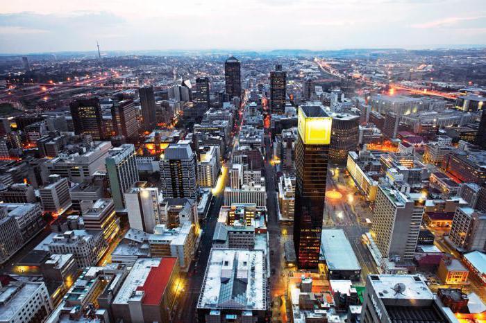 attrazioni di Johannesburg