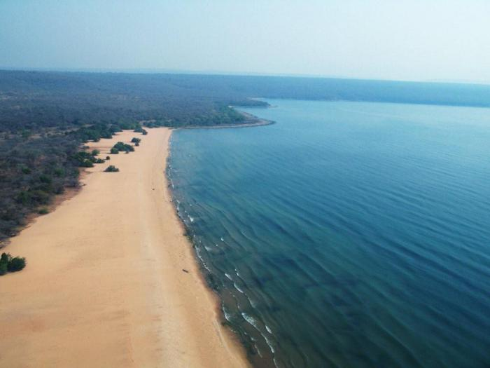 Jezero Tanganyika Hloubka
