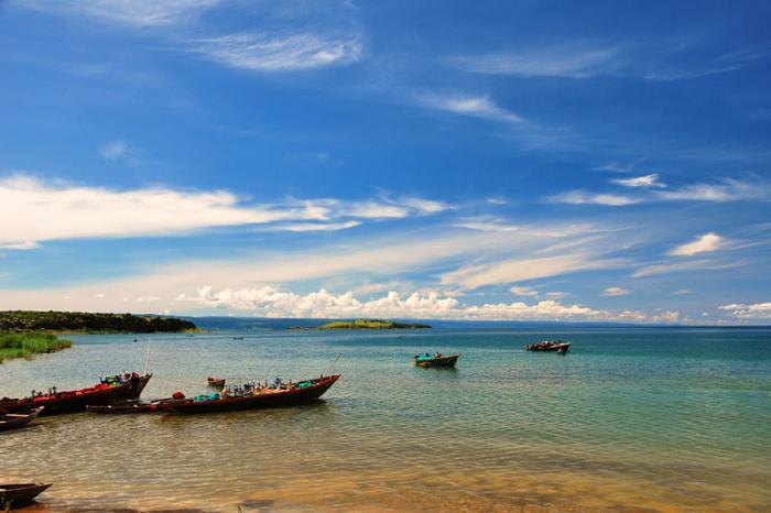 Kde je jezero Tanganyika