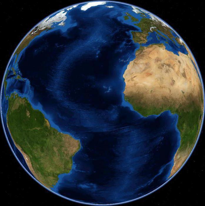 Gdzie jest Pacyfik i Ocean Atlantycki