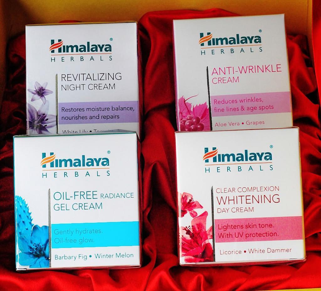 L'Himalaya è un famoso marchio di cosmetici indiano.