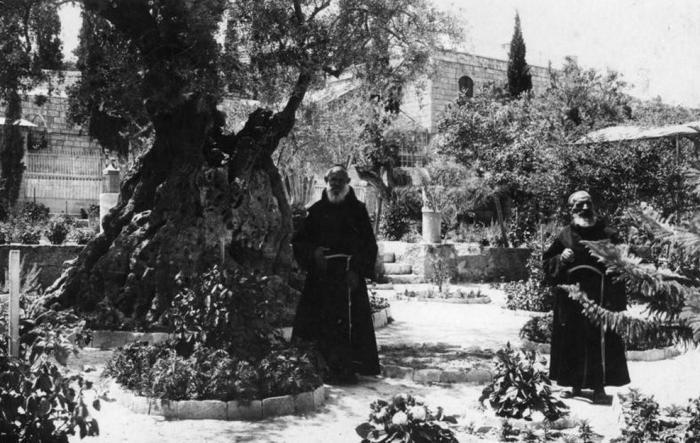 Гетсемански врт налази се на територији Назарета