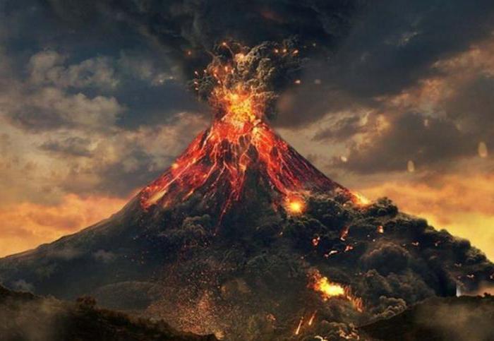 vulkan Vesuvius, kjer je država