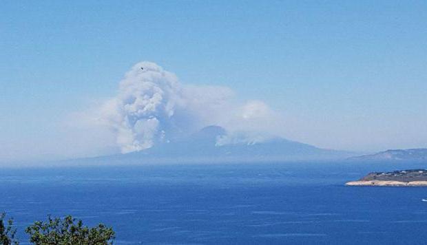 Vesuviusov vulkan, kjer je katera država