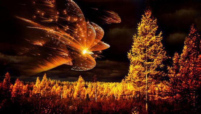 gdzie spadł meteoryt z tungusa