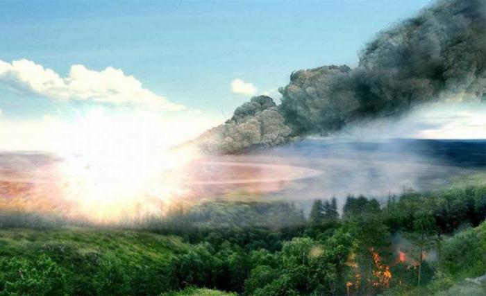 Meteoryt Tunguska, w którym upadło miasto