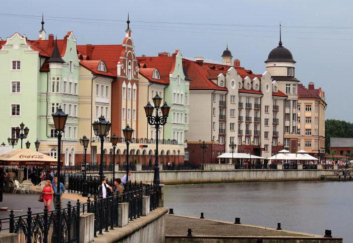 dove puoi andare a Kaliningrad la sera