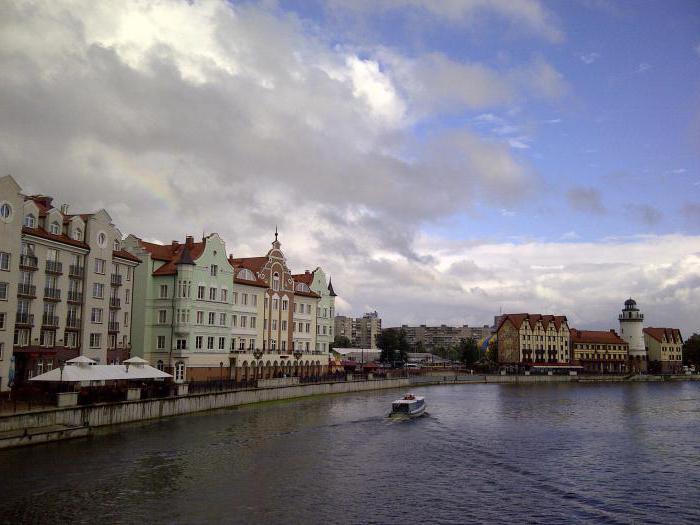 dove andare a Kaliningrad nel fine settimana