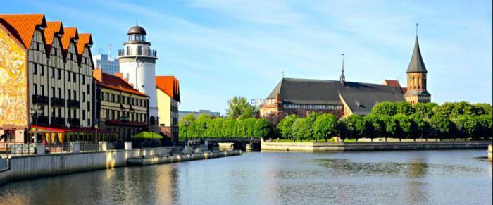 dove andare nel turista di Kaliningrad
