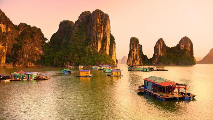 Stagione delle vacanze del Vietnam per mesi