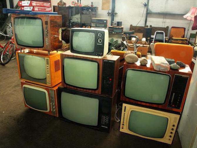 sprejemanje starih televizorjev