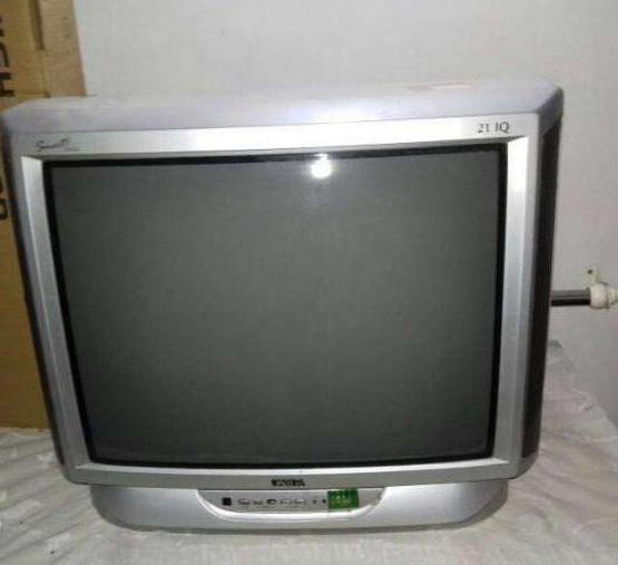 starih televizorjev