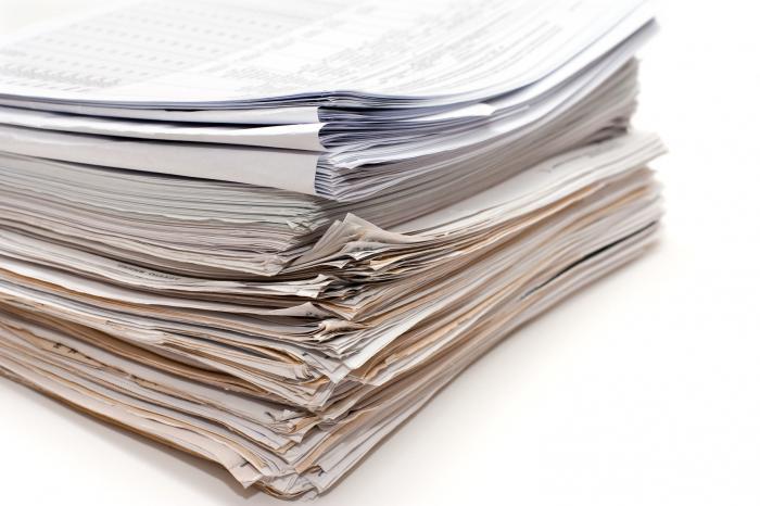 documenti per la registrazione