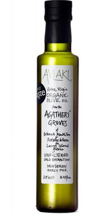 Olio d'oliva dalla Grecia