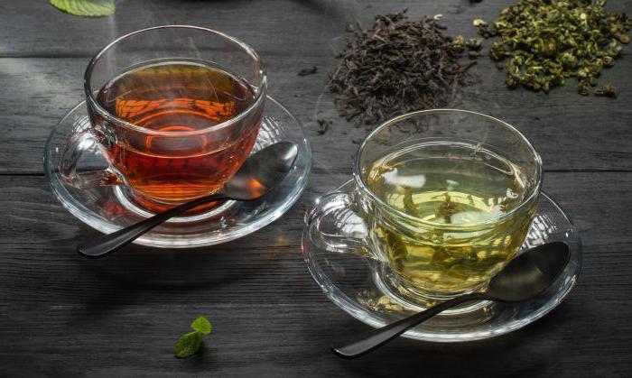 il tè nero o verde ha più caffeina
