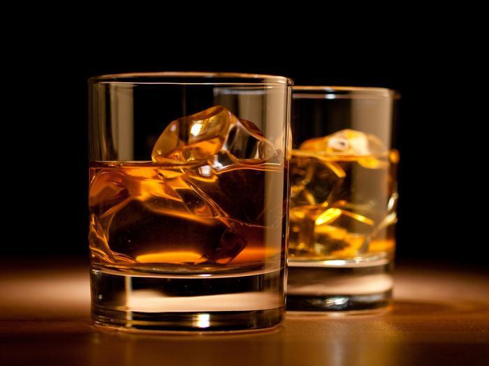 whisky con proporzione cola
