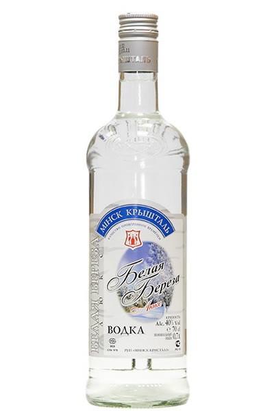 vodka di betulla bianca