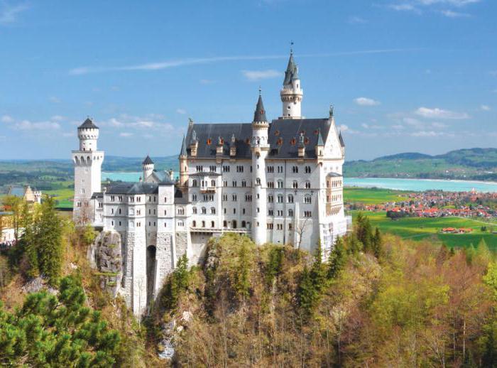 Castello di Neuschwanstein in Germania