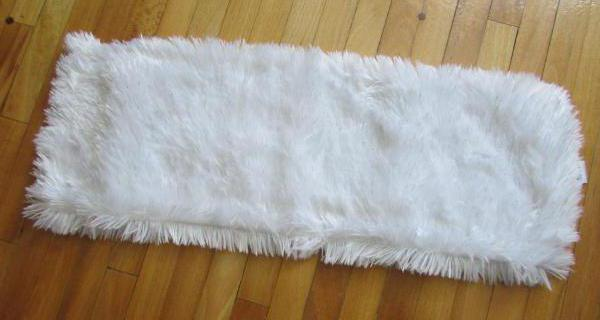 Mop gatto bianco