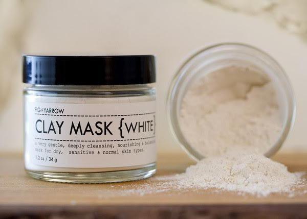 argilla bianca della Crimea per le revisioni del viso