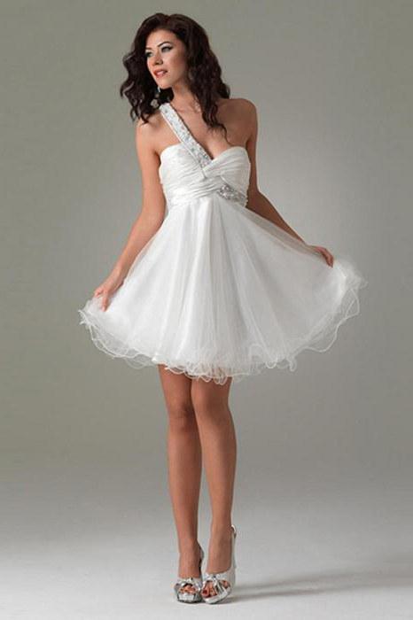 Vestito bianco arioso
