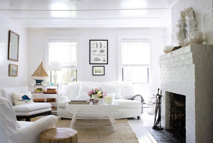 Mobili bianchi all\'interno. Mobili bianchi per soggiorno e ...