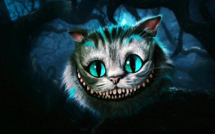 Cheshire mačka u zemlji čudesa
