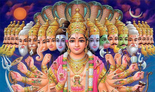 Indické bohy a bohyně