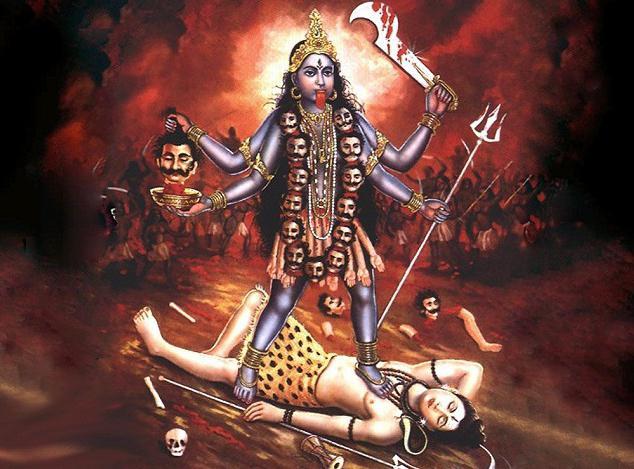 Kali, božica smrti