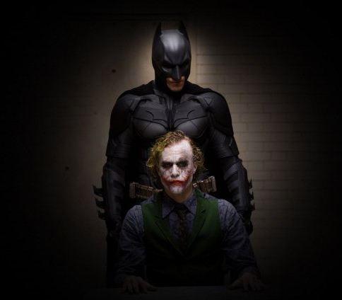 който е играл на шегаджия в Батман тъмен рицар