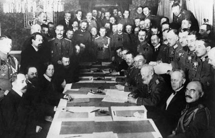 podpisanie pokoju w Brześciu
