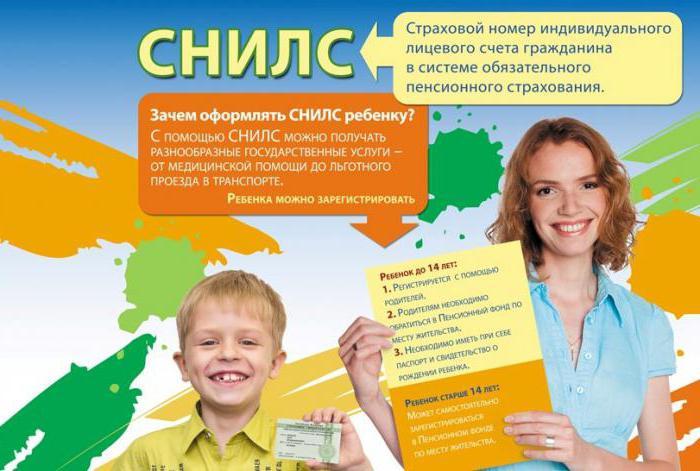 dokumente za otroka
