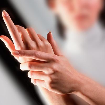 Ukočenost vrhova prstiju