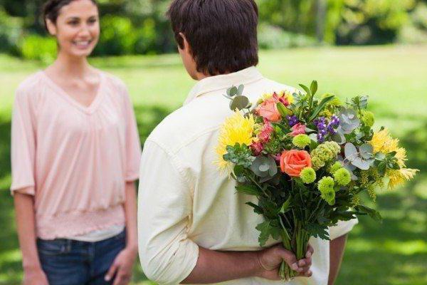 kar sanje človek daje rože
