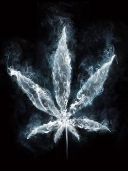 пасивно пушене на марихуана