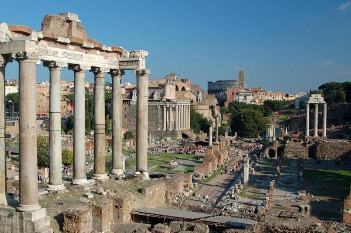 descrizione della città di Roma