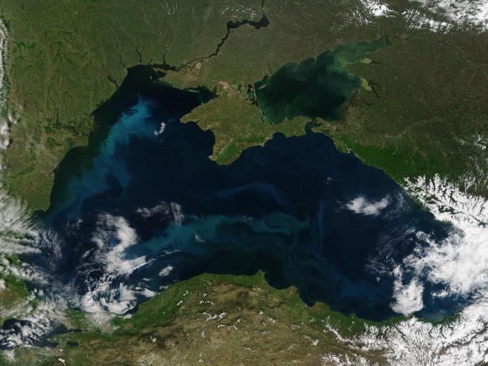 zašto je crno more slano