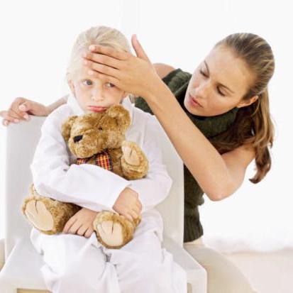 il bambino si sente male senza la febbre