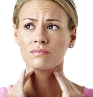 grumen simptoma grla