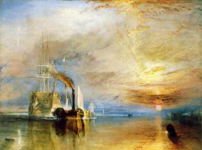 william turner artist paintings