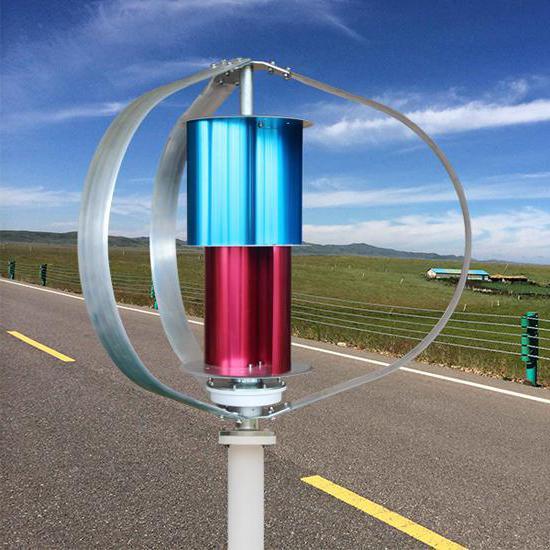 navpični vetrni generator