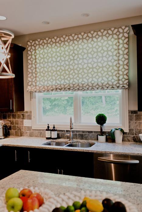 decorazione della finestra in cucina