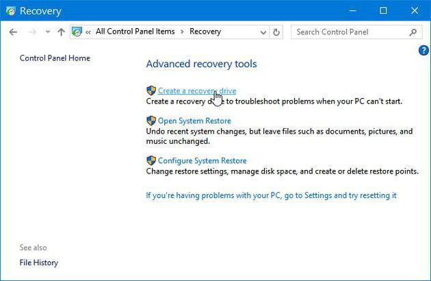 Windows 10 oporavak slike