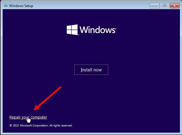 Windows 10 oporavak