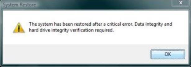 Windows prijavljuje probleme s tvrdim diskom