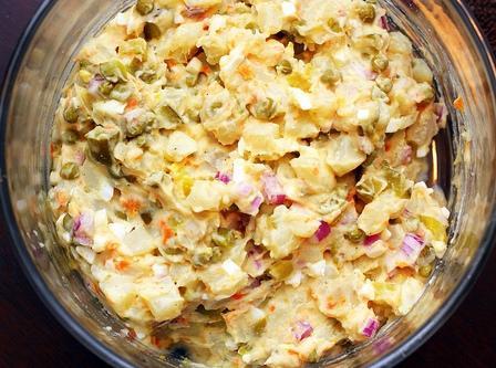 klasična zimska salata