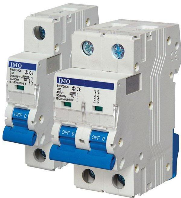 електрическа схема на узо и автомати